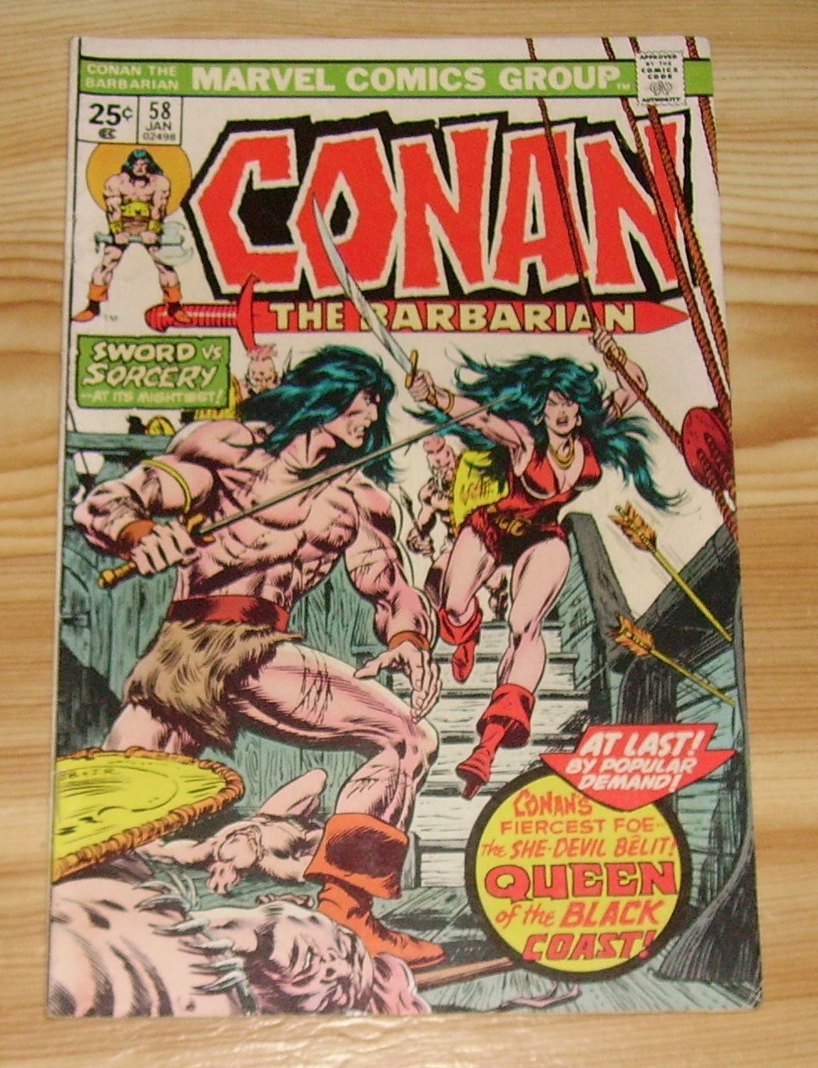 Conan the Barbarian #58 (1976)