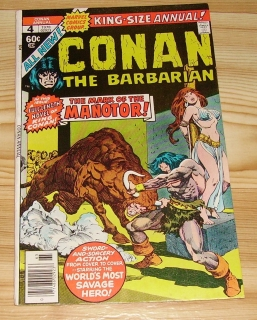 KING-SIZE ANNUAL CONAN THE BARBARIAN #4
