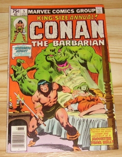KING-SIZE ANNUAL CONAN THE BARBARIAN #5