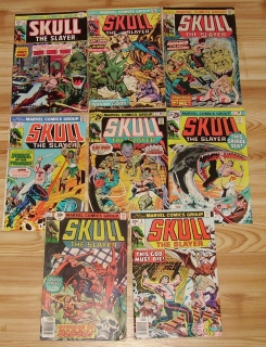 Skull the Slayer 1-8 (1975-1976)
