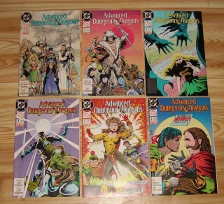 Advanced Dungeons & Dragons 1-6